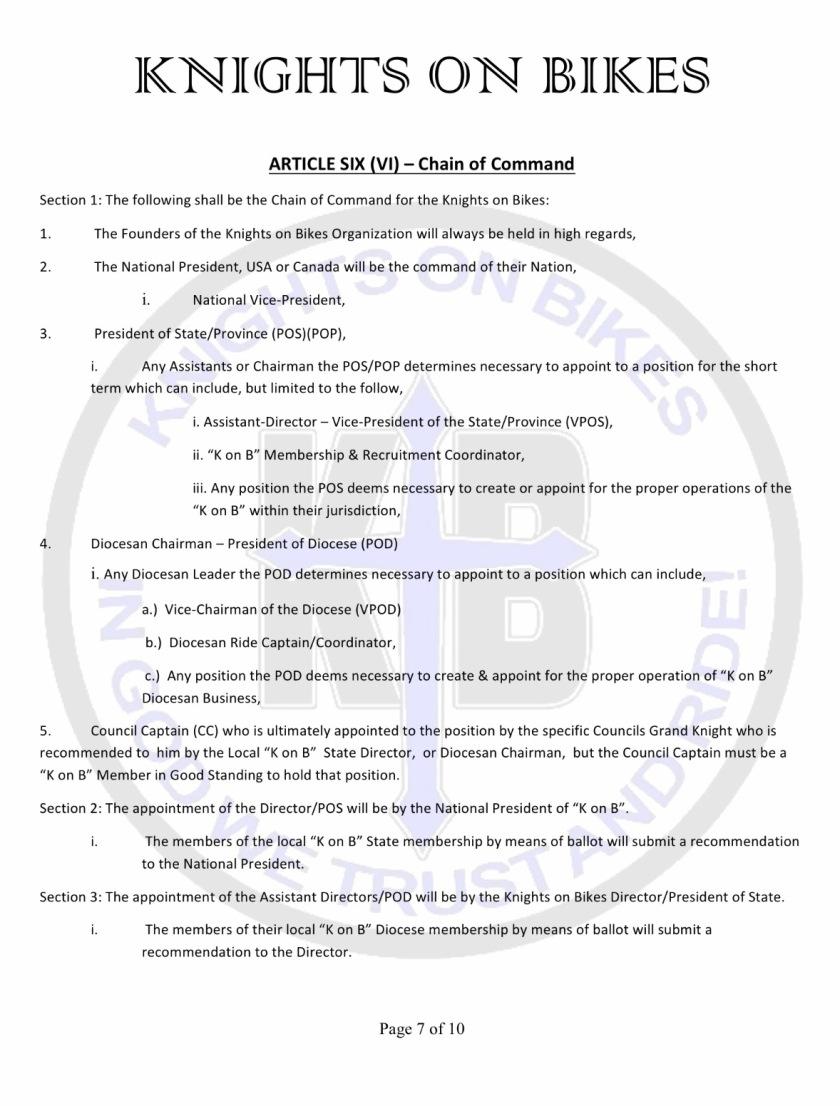 10 bylaws