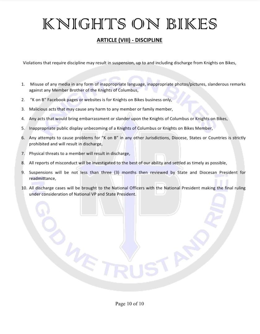 13 bylaws