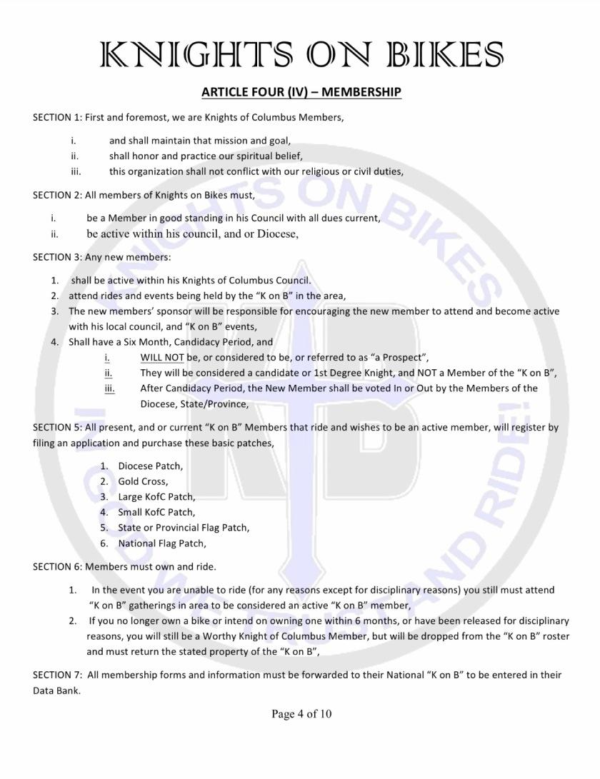 7 bylaws