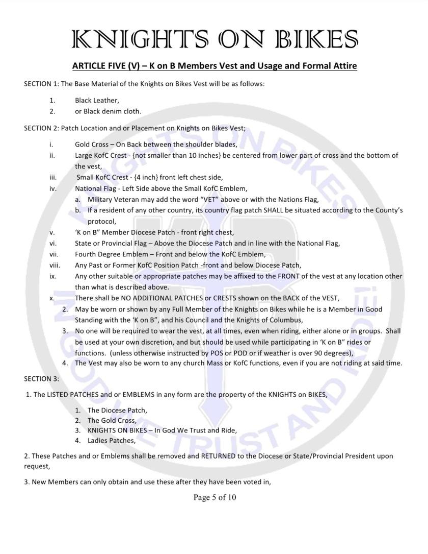 8 bylaws