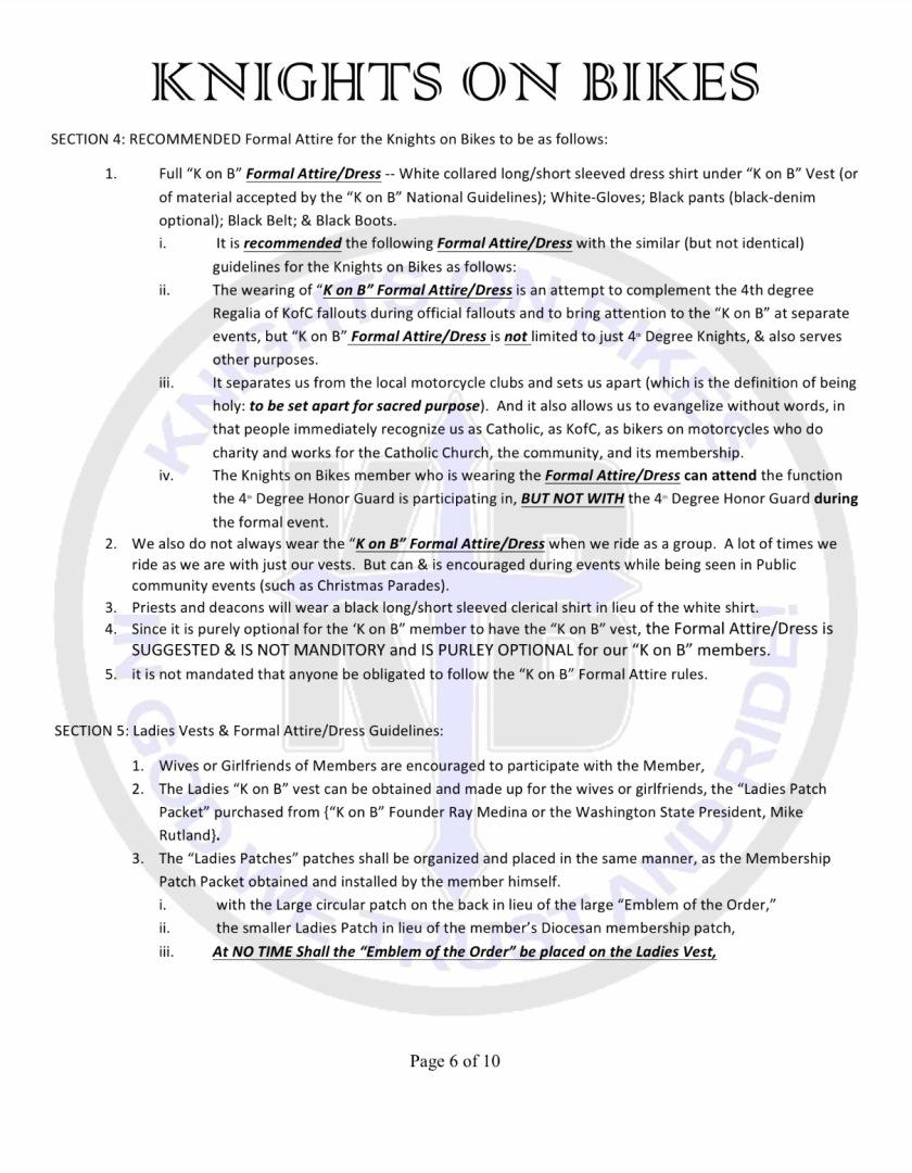 9 bylaws